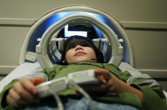 IRM enfant dyslexique