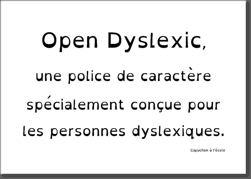 Apprendre à lire dyslexie