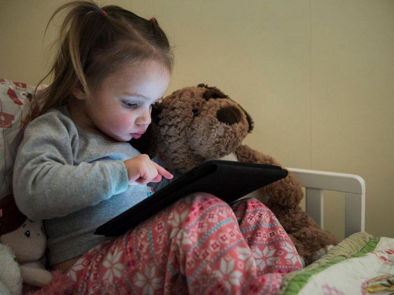 enfant tablette