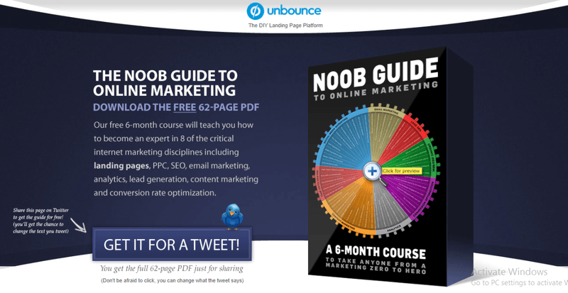 Noob Guide by Unbounce