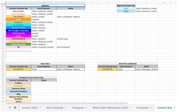 calendar content marketing strategy