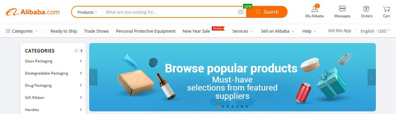 alibaba advanced search customer experience