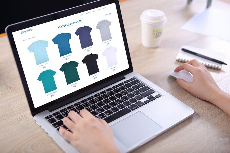ecommerce site color management