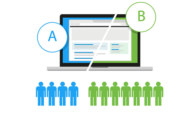 A/B test for optimal video marketing strategy