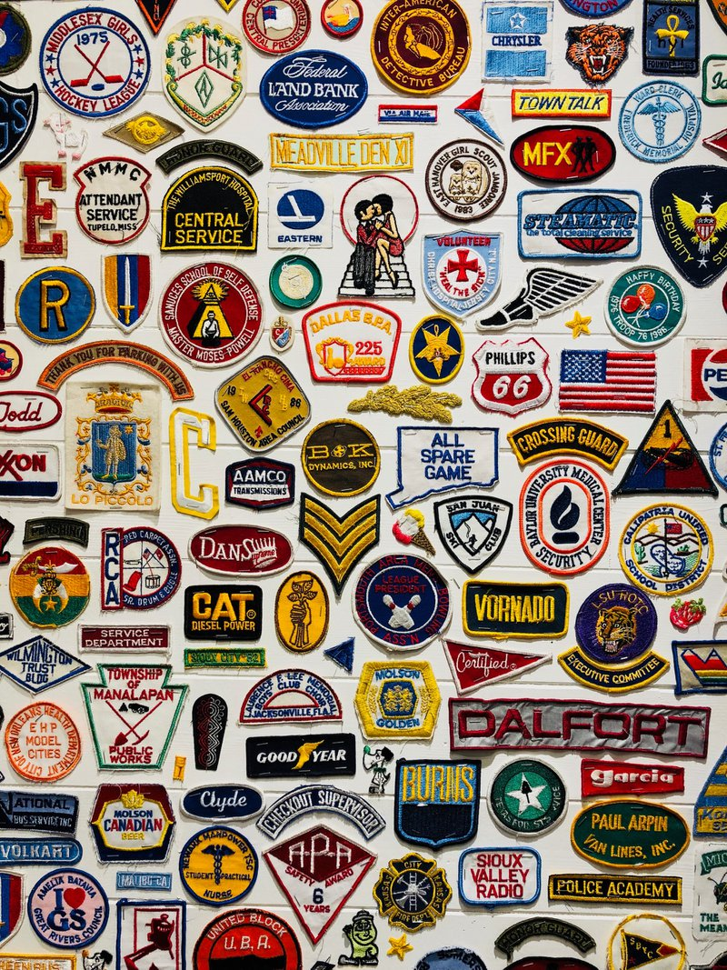 Brand patch wall