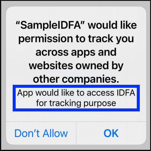 IDFA Tracking