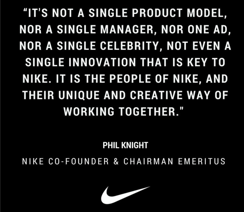 Nike statment