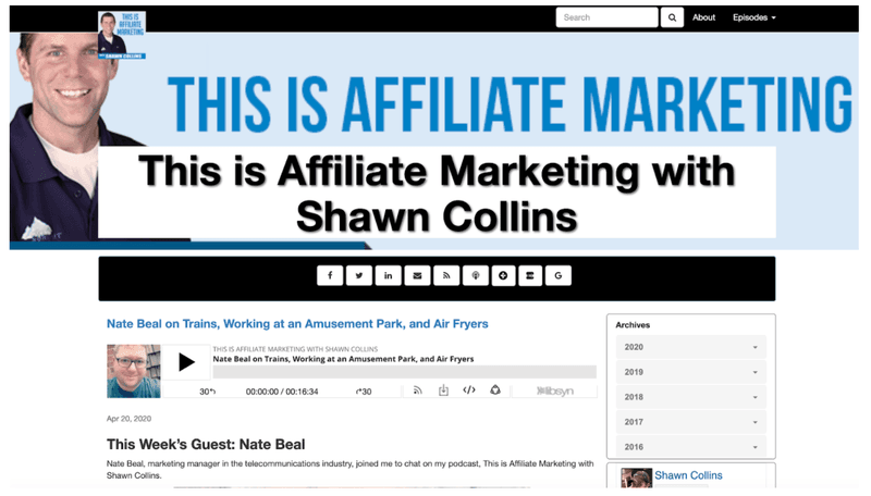 This Is Affiliate Marketing blog