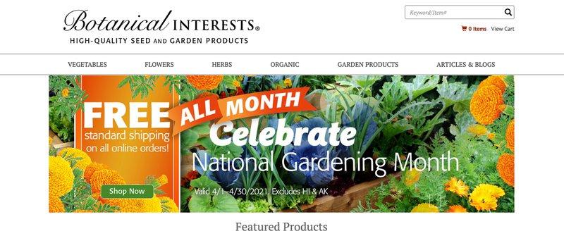 botanical interests Botanical Interests