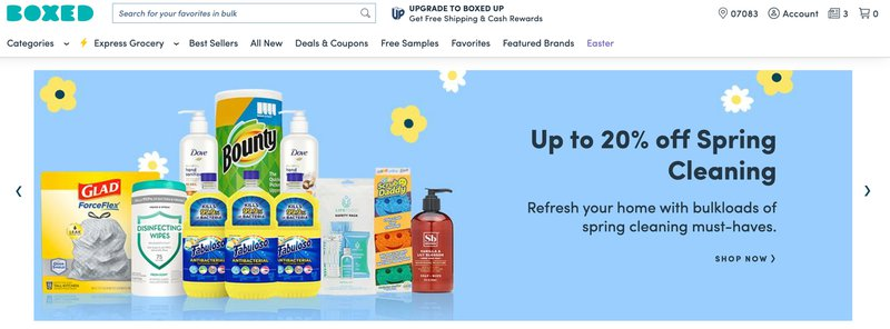 Boxed Grocery affiliate Program