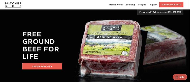 Butcher box affiliate program