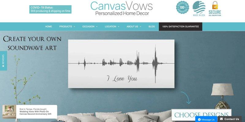 canva vows affiliate program