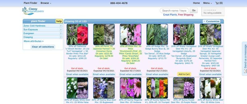 Classy Groundcovers best gardening affiliate programs