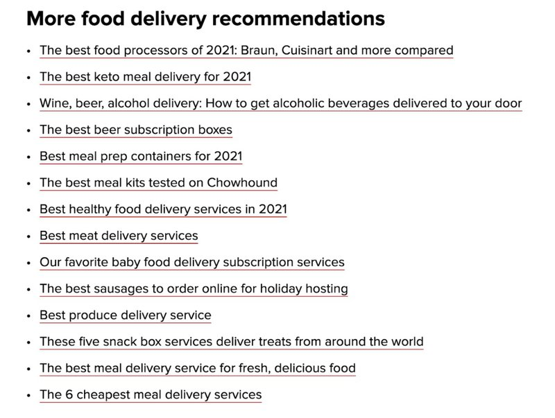 How CNET Drives Affiliate Revenue from Meal-kit Commissions in 2021? (CASE STUDY)