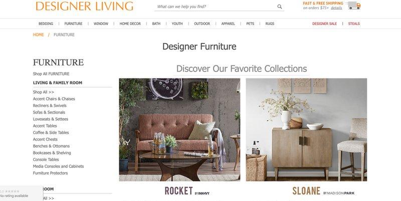 designer living affiliate program