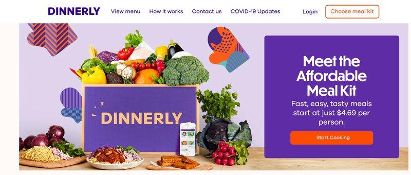 Dinnerly Meal kit food affiliate program