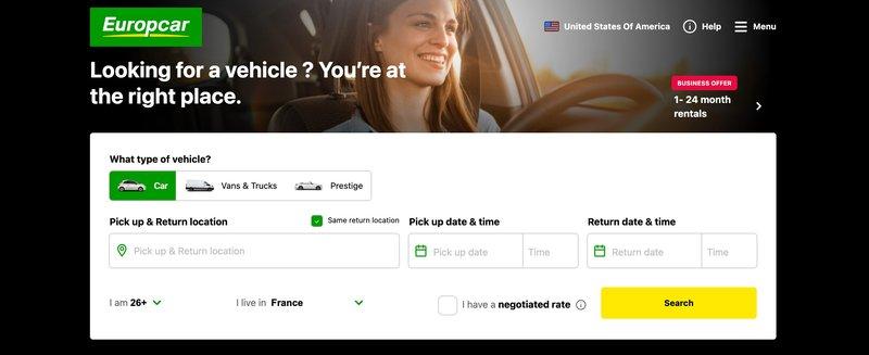 europcar travel affiliate program