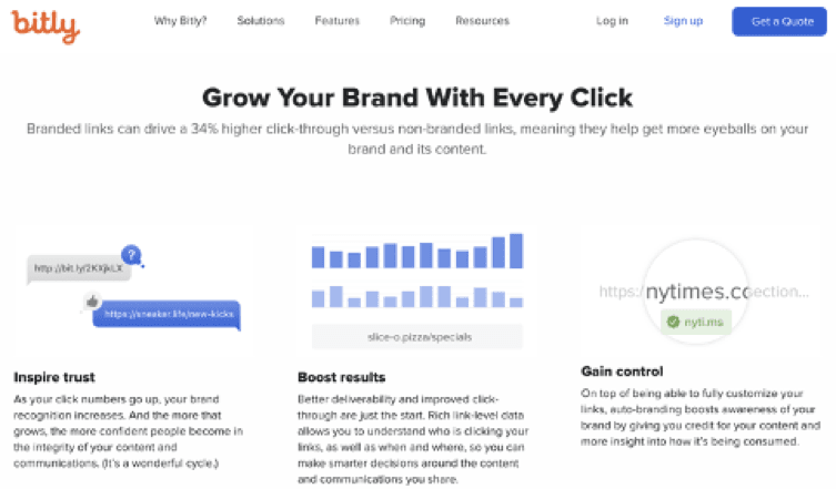 Bitly - Grow your brand with every click