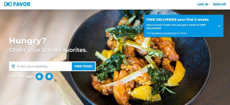 Favor delivery affiliate program