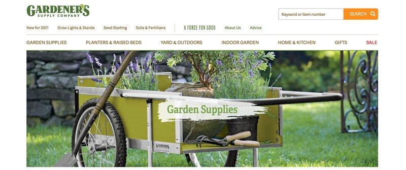 Gardener's supply best gardening affiliate programs