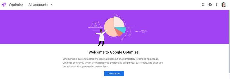 Google Optimize Tool