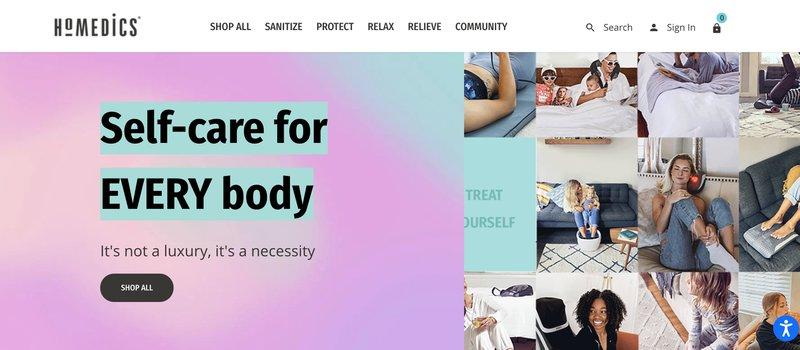 homedics health and wellness affiliate programs