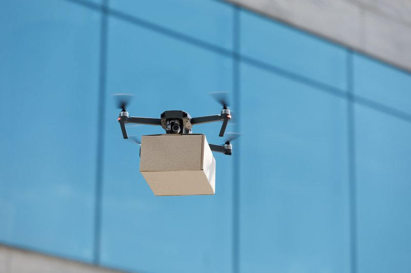 Drone Deliver eCommerce
