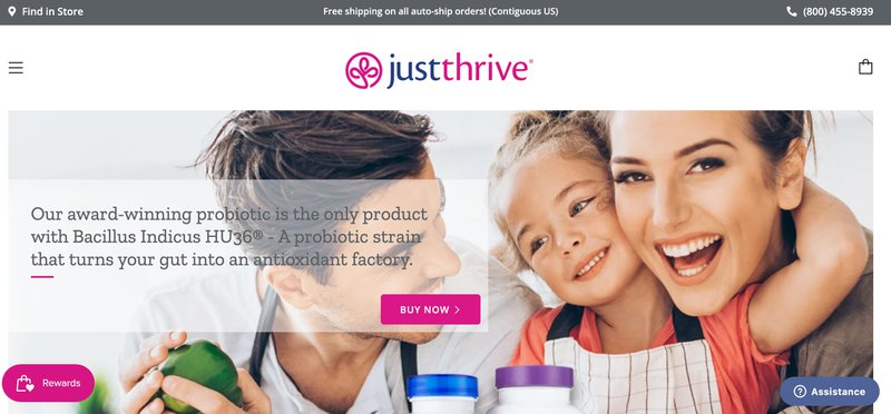 just thrive health and wellness affiliate programs