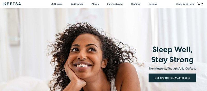 keetsa matresses home decor affiliate programs