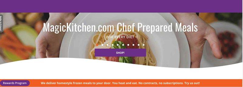 Magic kitchen heat and serve meal food affiliate program