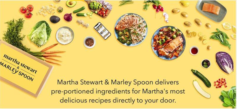 Martha Stewart  meal preparation food affiliation program