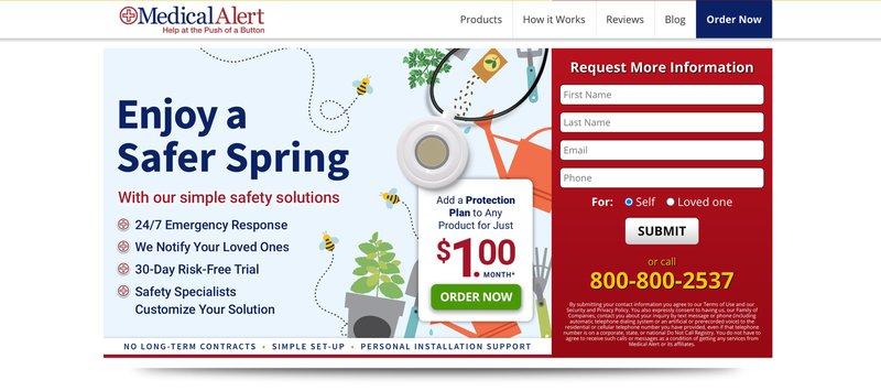 medical alert health and wellness affiliate programs