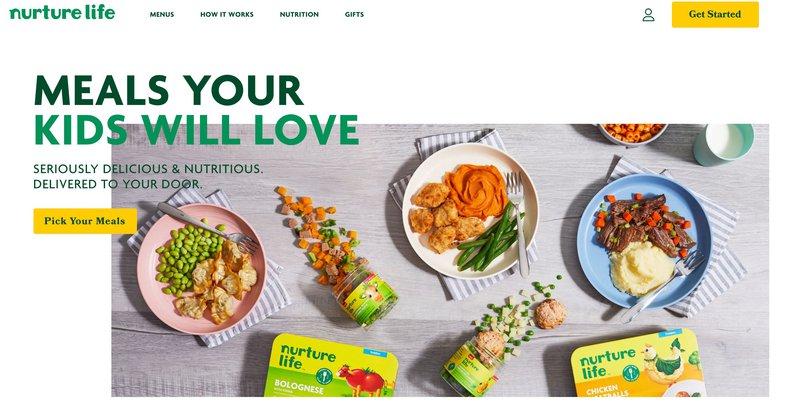 Nurture life chef prepared meals food affiliate program