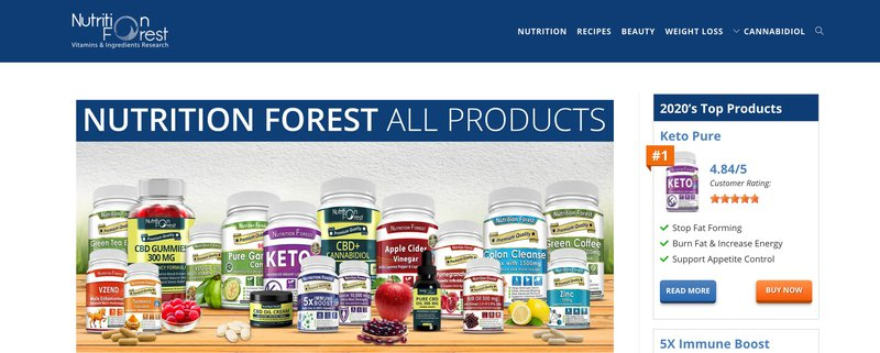 nutricion forest health and wellness affiliate programs