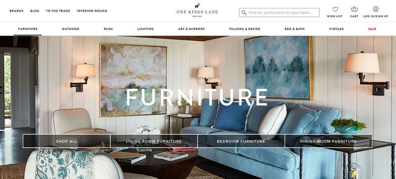 one kings lane home decor affiliate programs