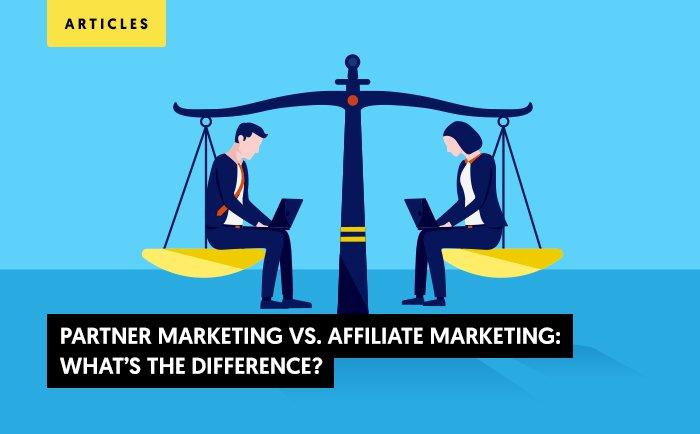 partner marketing affiliate marketing