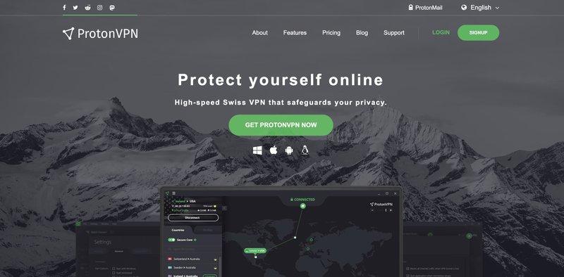 Proton VPN the best affiliate marketing tools