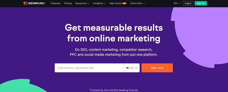 SEMrush the best affiliate marketing tools