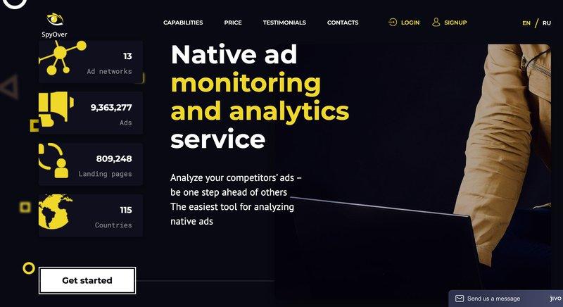 Spyover tool marketing