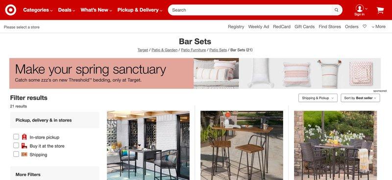 Target home decor affiliate program