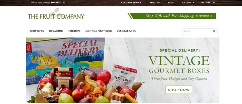 The Fruit Company gift delivery affiliate program