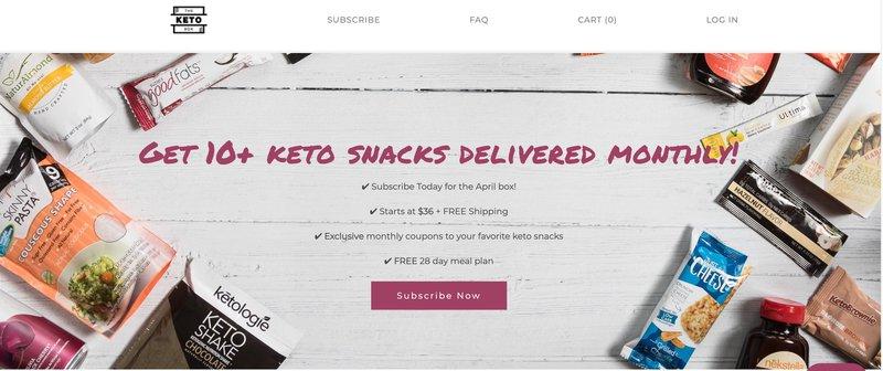 The Keto Box Best Keto Affiliate Programs
