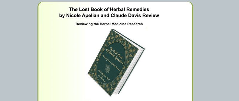 the lost book of remedies affiliate program