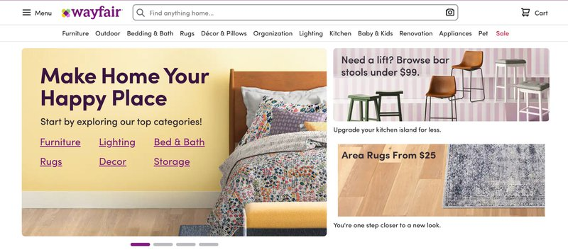 wayfair home decor affiliate programs