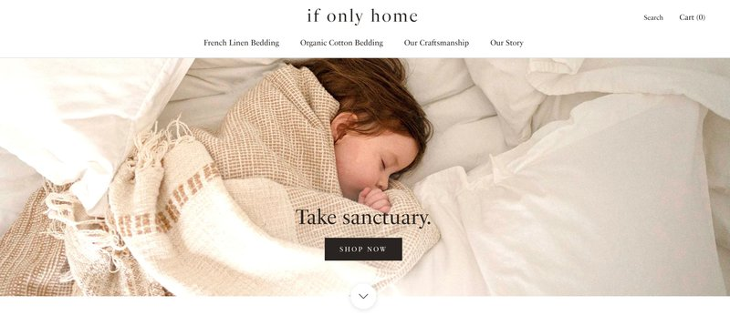 white terry-  if only home decor affiliate programs