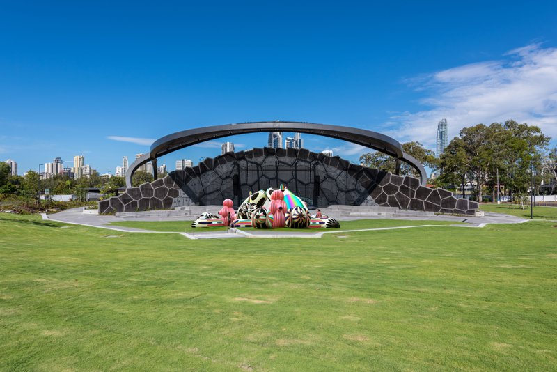 This year, Wonder at HOTA is back, and it's bigger and bolder than before, with larger-than-life art in the outdoors and an explosion of colour and sound