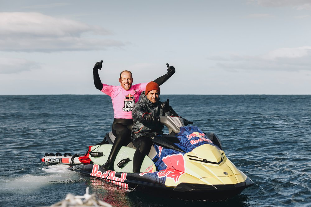 Mark Mathews is seen at Red Bull Cape Fear in Tasmania