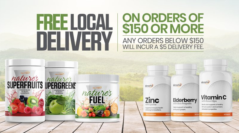Free Local Delivery Nutrishop Mountain View