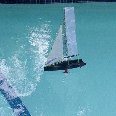 3D Printed Sailboat