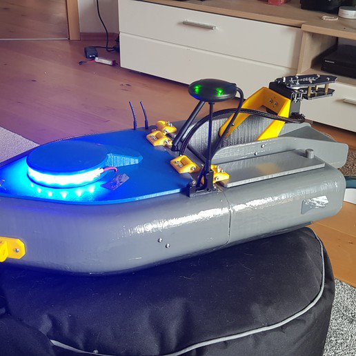 3D Printed Fish Finding Boat